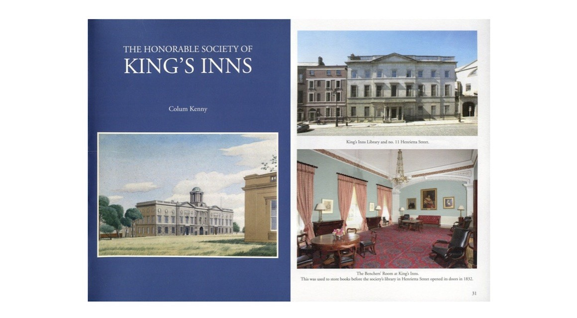 An Updated History of The Honorable Society of King's Inns