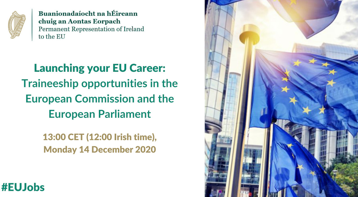 Launching your EU Career: Traineeship opportunities in the European Commission and the European Parliament