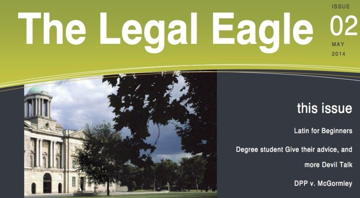 The Legal Eagle Issue 02 May 2014