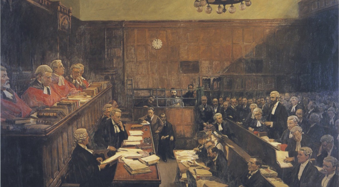 "A Great Historical Painting in King's Inns; ""High Treason"" by Sir John Lavery"
